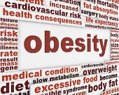 image of medical condition  - Obesity medical poster design - JPG