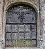 Medieval Door poster