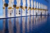 picture of emirates  - Grand mosque of Abu Dhabi - JPG