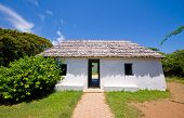 stock photo of slave-house  - ancient slave house on curacao cas di palhi mashi - JPG
