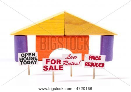Toy Block House