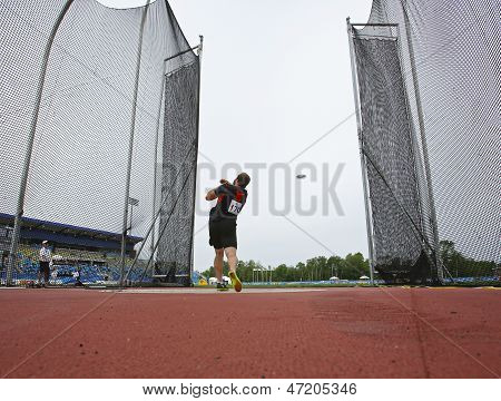 Discus Throw Male Canada