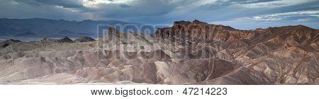 Zabriskie Point dusk panorama
