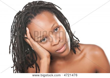 African Girl Portrait