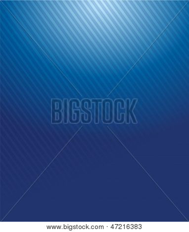 Blue Gradient Lines Pattern Illustration Design