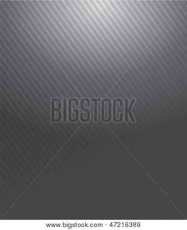 Grey Gradient Lines Pattern Illustration
