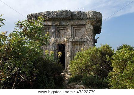 Ruins Of Sarcophagus