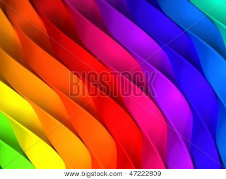 Color stripe abstract background 3d illustration