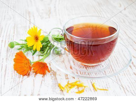 Tea With Calendula