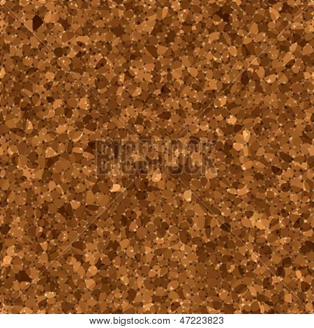 vector illustration of cork texture