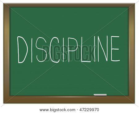 Concepto de disciplina.