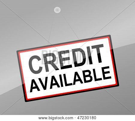 Concepto de crédito.