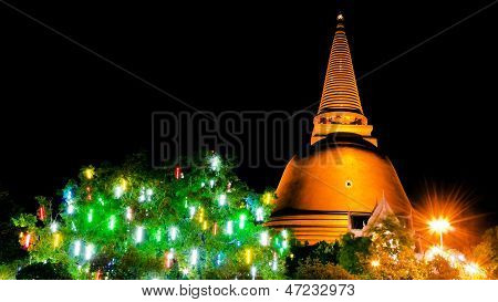 Phra Pathom Chedi , The Tallest Stupa In The World.