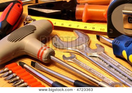 Several Hand Tools