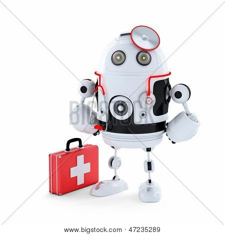 Médico robô.