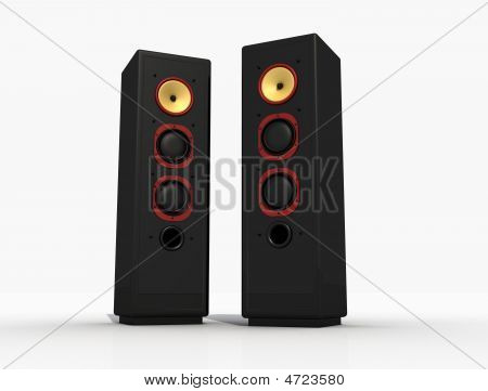Black Audio Speaker