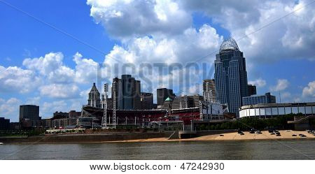 Skyline de Cincinnati Ohio