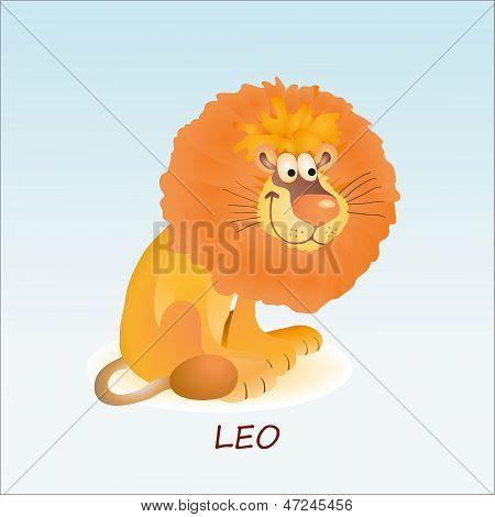 Astrological Symbol Of Lion Or Leo.eps