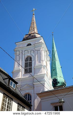 Saint Mary Magdalen's church. Riga, Latvia
