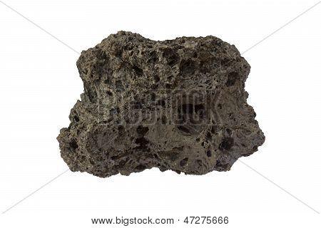 Scoria From Etna Volcano