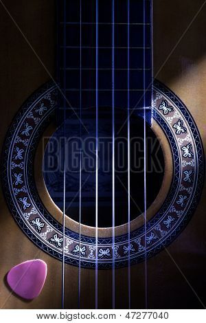 Classical Guitar Hole
