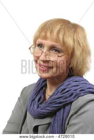 Woman Bespectacled