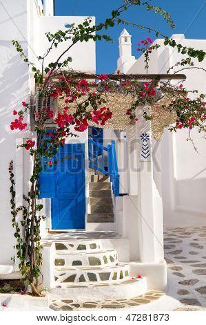 Traditional Greek House On Sifnos Island, Greece