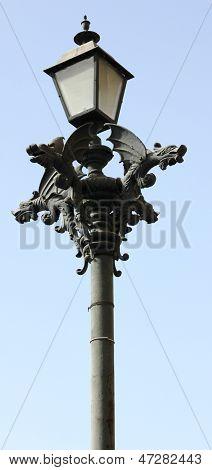 Gargoyle Lamp Post