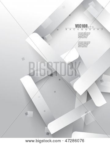 eps10 vector overlapping geometric squares design