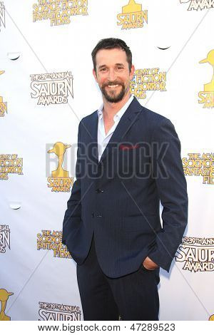 BURBANK - JUN 26: Noah Wyle at the 39th Annual Saturn Awards held at Castaways on June 26, 2013 in Burbank, California