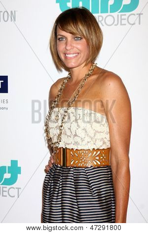 LOS ANGELES - JUN 25:  Arianne Zucker arrives at the 4th Annual Thirst Gala at the Beverly Hilton Hotel on June 25, 2013 in Beverly Hills, CA