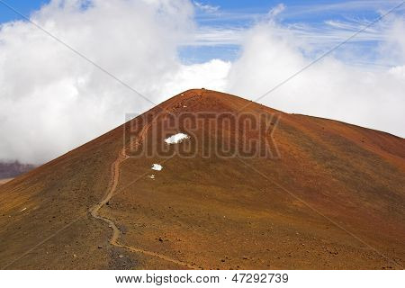 The Summit Of Mauna Kea And Hawaii