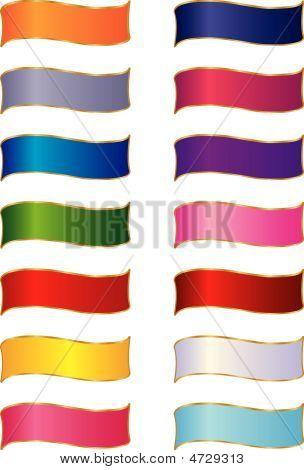 Multi-colored Ribbons
