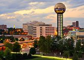 pic of knoxville tennessee  - Skyline of downtown Knoxville - JPG
