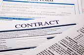 foto of covenant  - contract form business concept and legal system - JPG