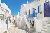 stock photo of greek-island  - Traditional greek house on Sifnos island Greece - JPG