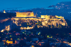 picture of piraeus  - The Acropolis in Athens - JPG