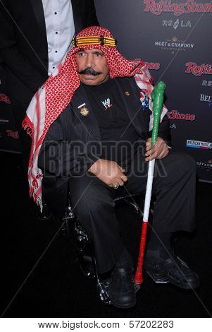 The Iron Sheik at the Rolling Stone American Music Awards VIP After-Party, Rolling Stone Restaurant & Lounge, Hollywood, CA. 11-21-10