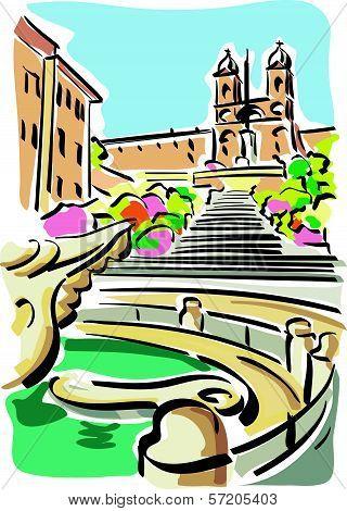 Rome (Piazza di Spagna)