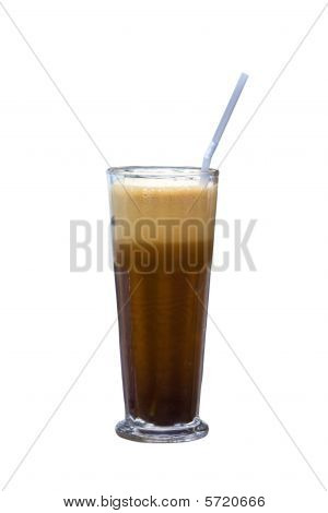 Greek cold coffee called