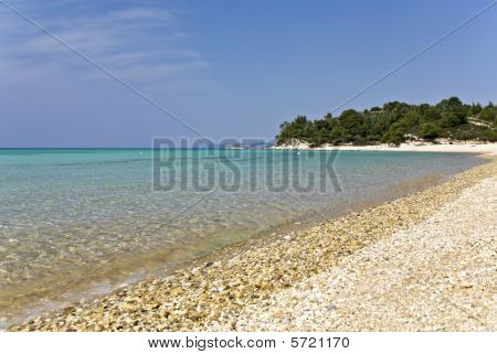Beach at Chalkidiki, Greece (kalogria area)