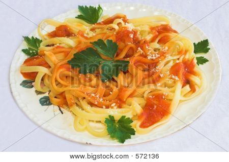 Italian masses (Spaguetti)