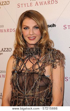 Angela Lindvall  at the 2010 Hollywood Style Awards, Hammer Museum, Westwood, CA. 12-12-10