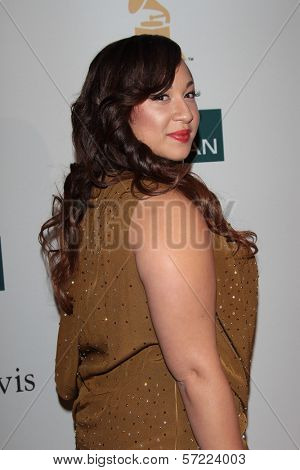 Melanie Amaro at the Clive Davis And The Recording Academy's 2012 Pre-GRAMMY Gala, Beverly Hilton Hotel, Beverly Hills, CA 02-11-12