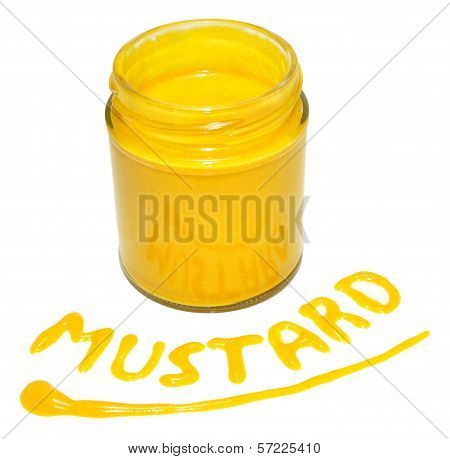 Jar Of English Mustard