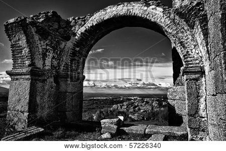 Town Under Arch