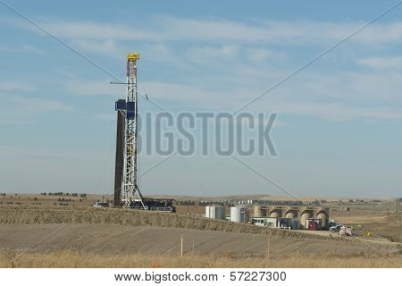 Oil Drilling in NW North Dakota