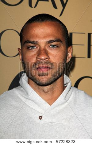 Jesse Williams at Grammy Glam, MyHouse, Hollywood, CA 02-07-12
