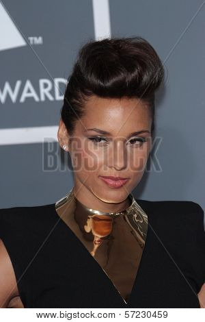 Alicia Keys at the 54th Annual Grammy Awards, Staples Center, Los Angeles, CA 02-12-12