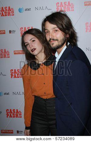 Diego Luna and Camila Sodi at the
